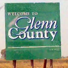 Welcome to Glenn County vintage sign